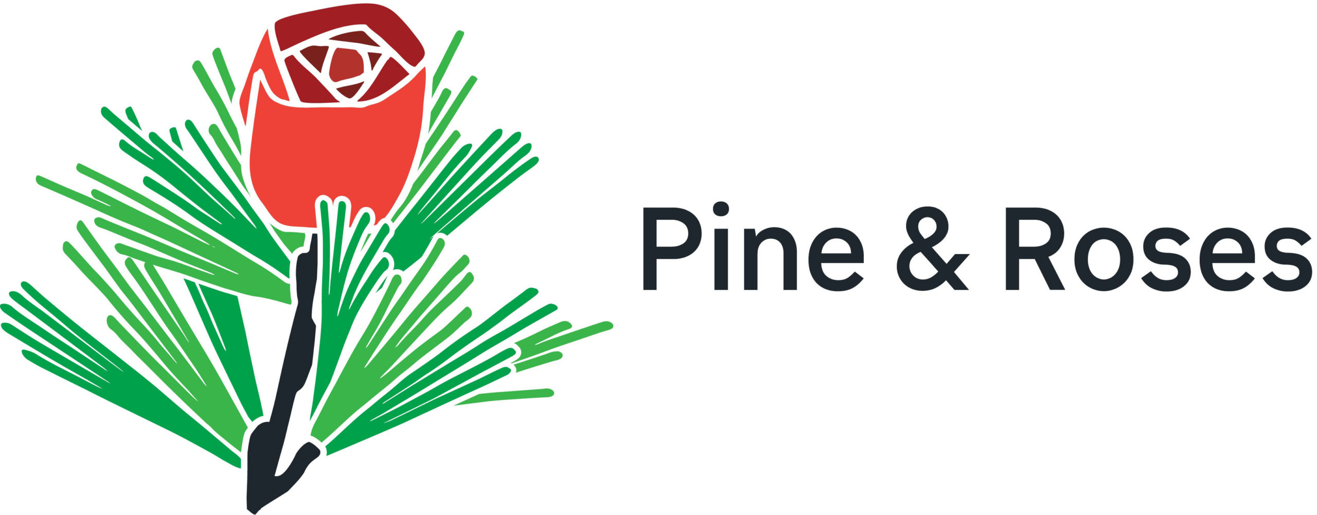 Pine and Roses