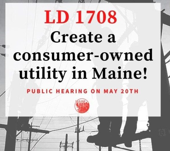 Fight for public power in Maine heats up