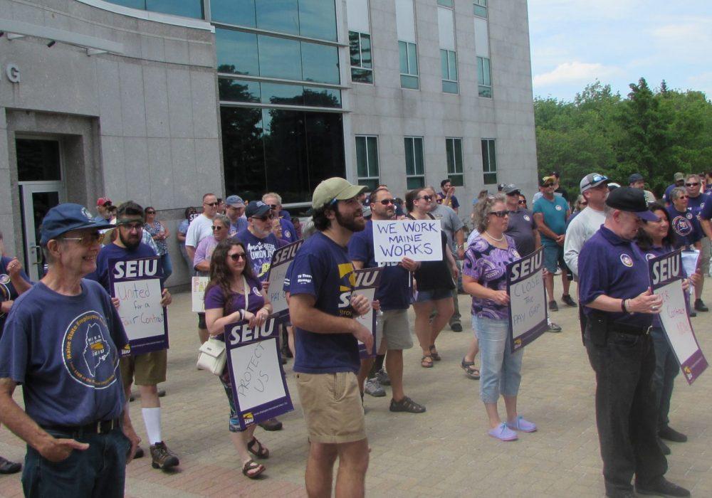 Maine Service Employees Association demands a fair shake from Gov. Mills